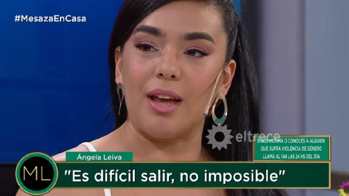 Ángela Leiva: Nunca me levantó la mano pero hizo cosas peores