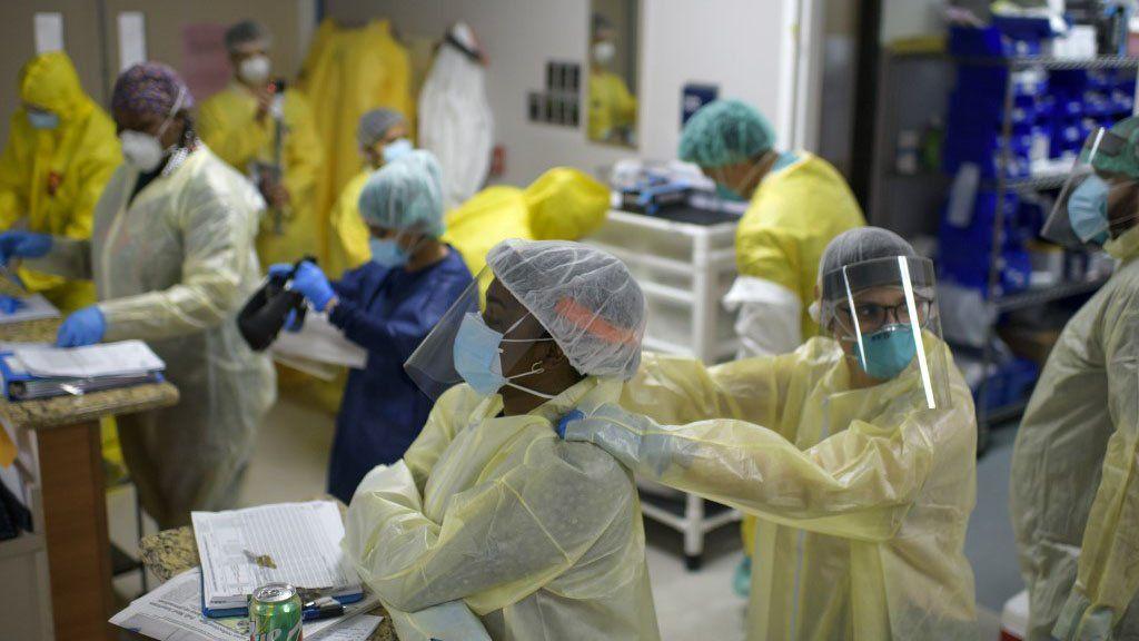 Texas, California y Florida desplazaron a Nueva York como foco de la pandemia en EE.UU.