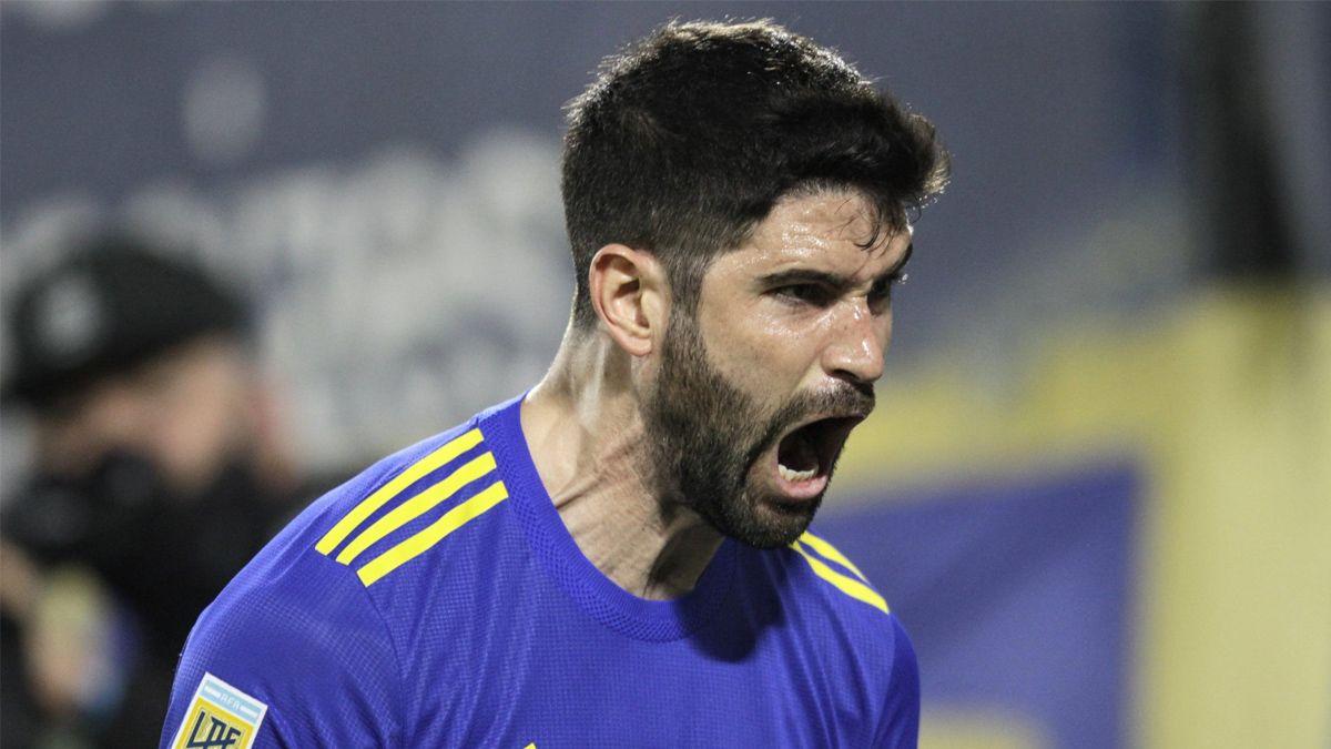 Orsini y el desahogo por poder marcar en Boca.