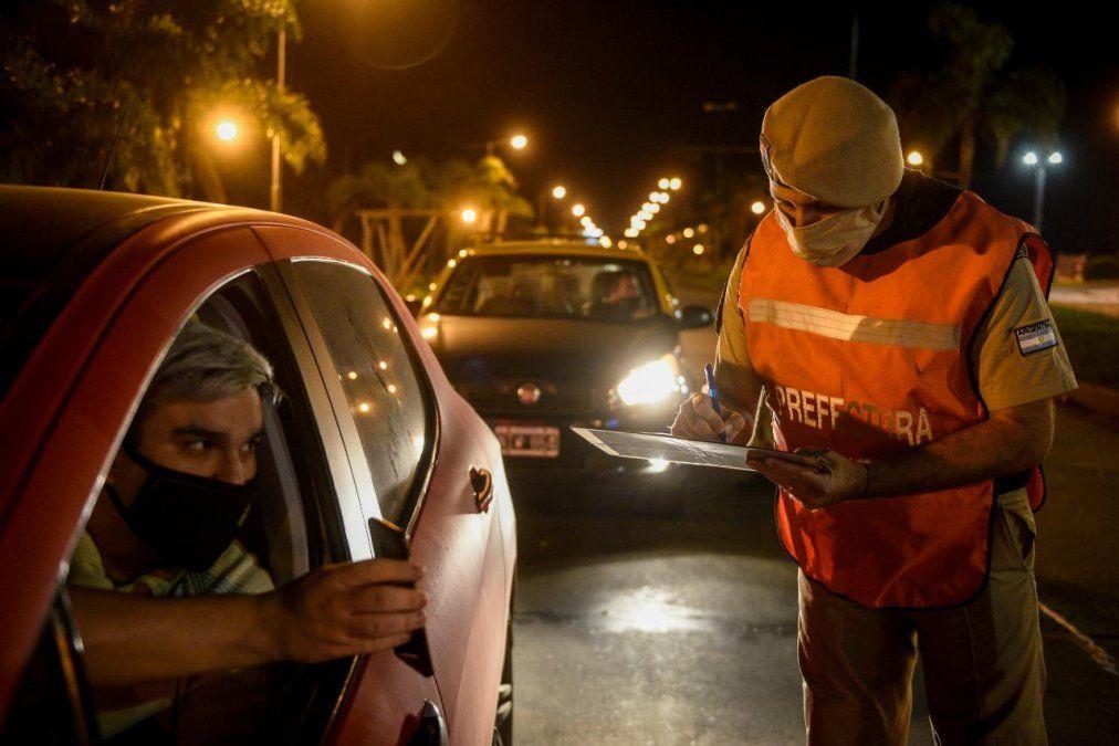 Restricciones en el AMBA: Cómo fue la primera noche en que las fuerzas federales controlaron la circulación