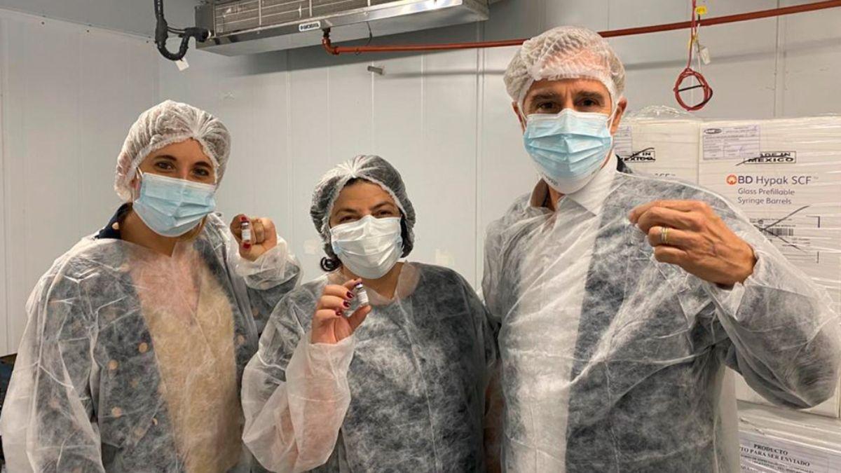 El laboratorio Richmondo producirá 3 millones del segundo componente de la Sputnik V en agosto. Foto: Archivo.