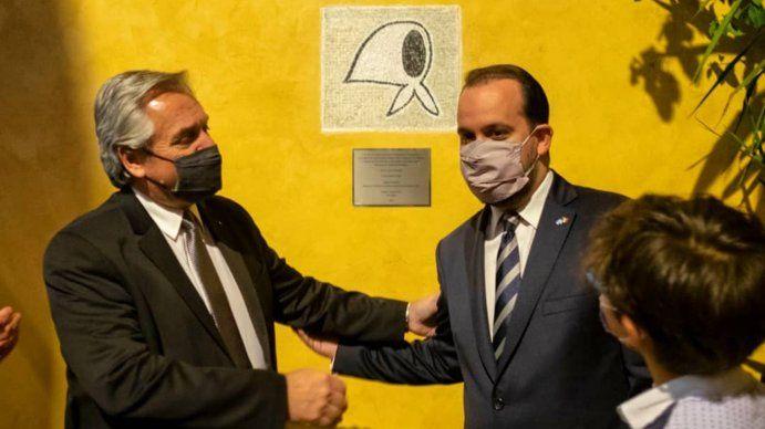 Alberto Fernández homenajeó en Roma a las Madres y Abuelas de Plaza de Mayo