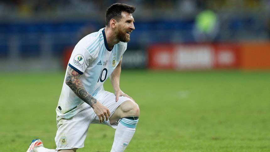 ¡Más mala suerte no puede haber! Messi le rompió el palo a Alisson