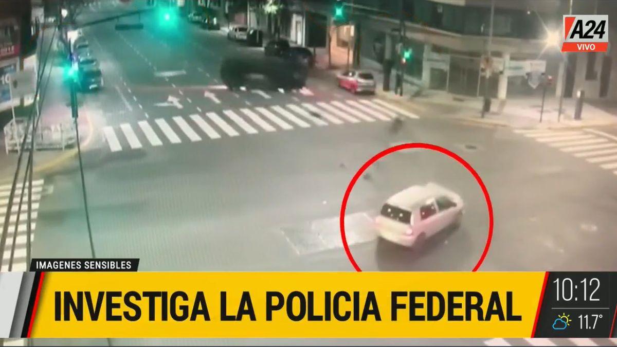 El móvil de la Policía Federal