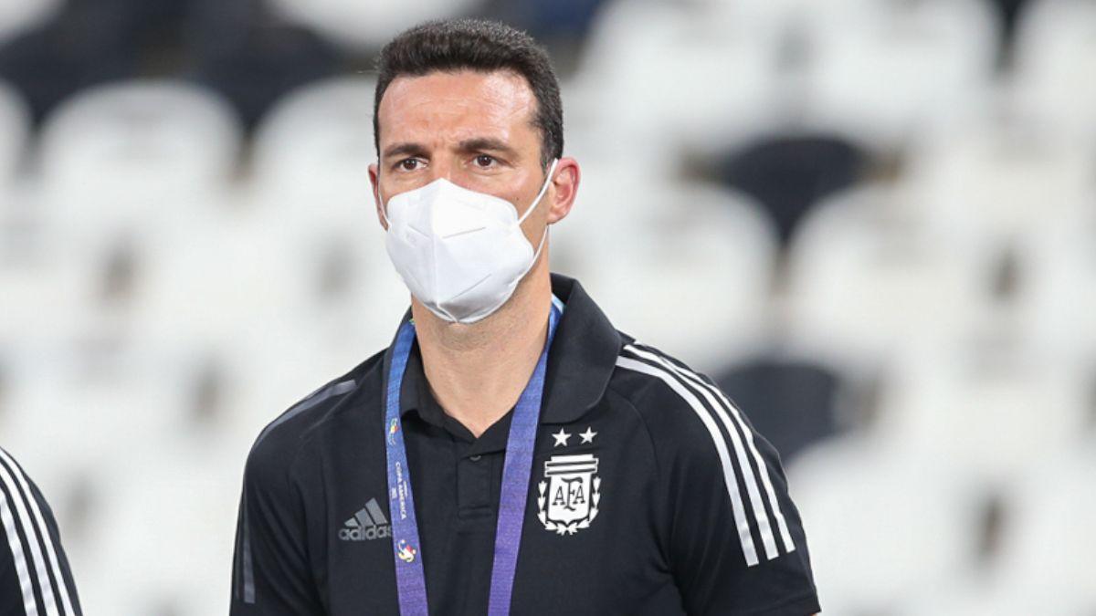 Scaloni se fue conforme con Argentina.