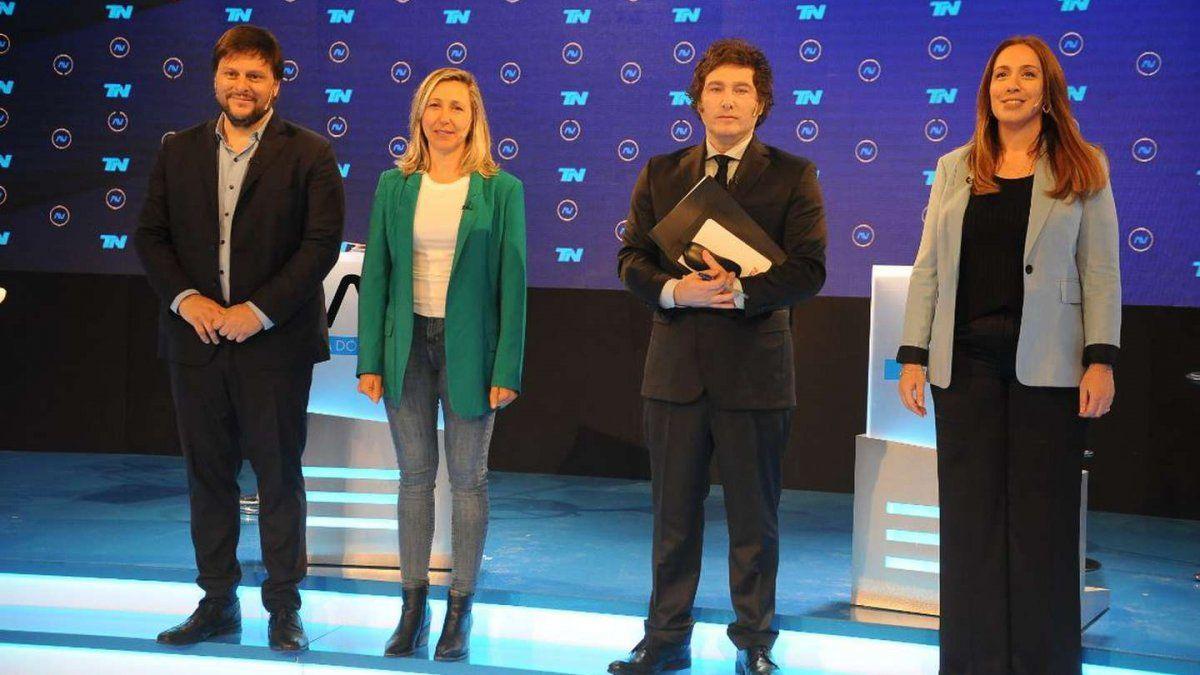 Debate de candidatos a diputado por la Ciudad.