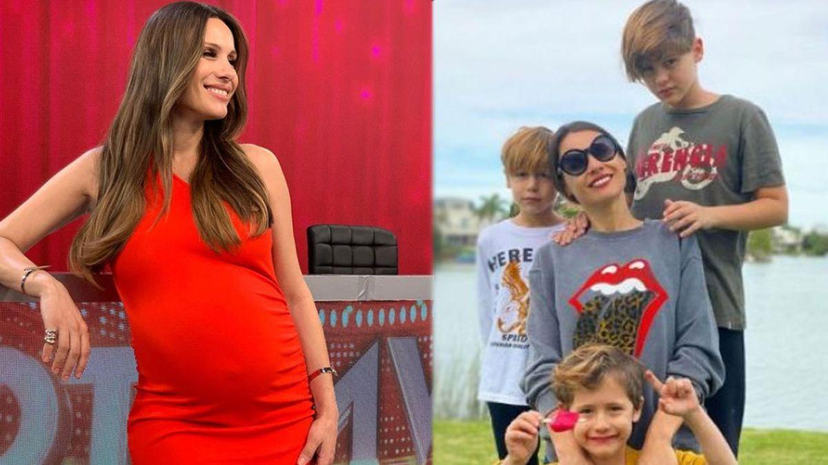 Pampita: el pedido especial que le hicieron sus hijos antes de dar a luz